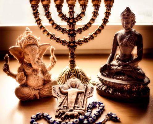 Ganesha, Buddha, Channuika, Jesus, Nazar-Auge